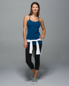 Lululemon power y tank, size 4, various colours, like NEW