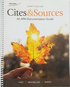 Cites & Sources: An APA Documentation Guide (like BRAND NEW)