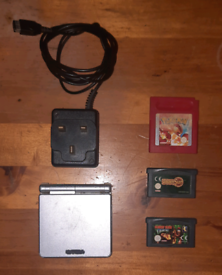 GameBoy Advance SP, Rare Pokemon Red Original and Other Games