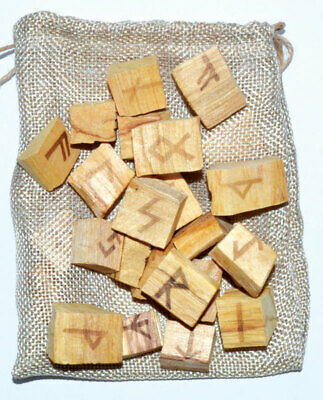 Palo Santo Rune Set Wholesale Wiccan Witchcraft Supply Store