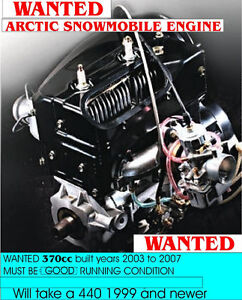 WANTED Arctic Cat Engine 370 or 440 1998 or newer.
