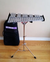 Yamaha Xylophone with stand and case