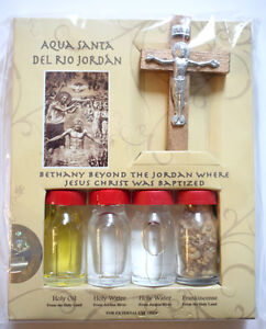 Church Approved Holy Water from Jordan River