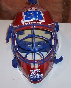 Childs toy goalie helmet – ONLY $12