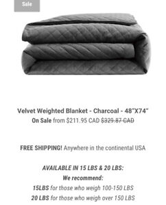 Comfitude weighted blanket