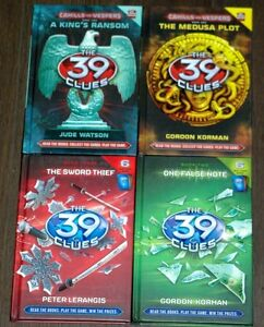 The 39 Clues Hardcover books