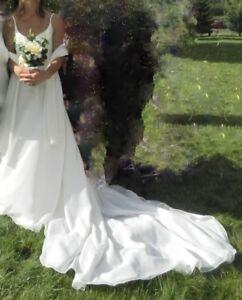 Robe de mariée 4,6 ans