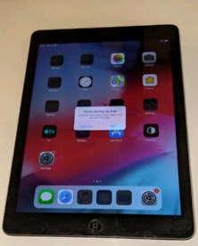 Apple iPad air 16gb immaculate condition needs new battery