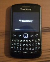 Blackberry Curve 9360 Fido Rogers & Chat-R