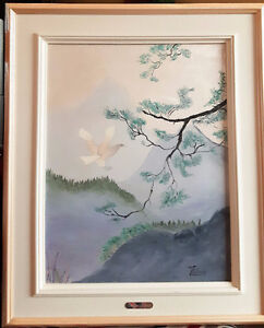 Framed Original 1992 Thérèse Lalonde signed Oil Painting