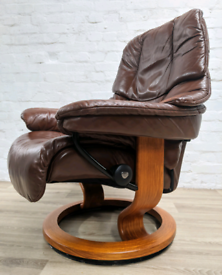 Ekornes Stressless Recliner Armchair (DELIVERY AVAILABLE)