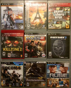 9 PlayStation 3 video games