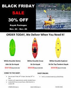 BLACK FRIDAY WEEKEND Kayak Sale