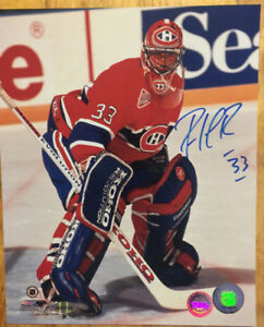 PATRICK ROY Signed Montreal Canadiens Official NHL Hockey Photo
