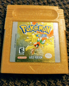 Pokemon gold for the Game boy color
