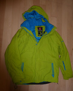 Quicksilver winter coat, youth size 16, very good condition Kitchener / Waterloo Kitchener Area image 1