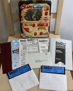 Sim City PC game.  DOS/Tandy. 1989. Maxis/Broderbund. Bonus