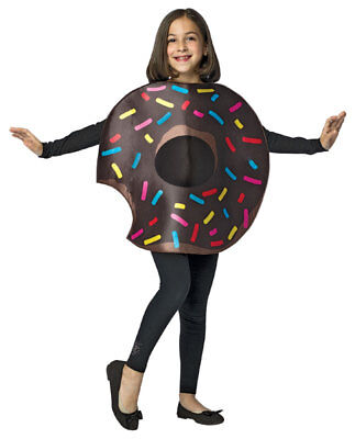 Kids Chocolate Donut Costume 7-10 - Kids Donut Costume