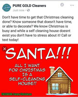 Need help cleaning your home for Christmas,