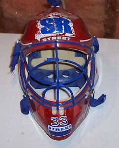 Childs toy goalie helmet – ONLY $12 London Ontario image 1