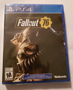 BRAND NEW **FALLOUT 76** SEALED