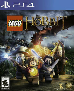 LEGO THE HOBBIT PS4 BRAND NEW FACTORY SEALED !!