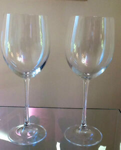 Two Oversize Wine Glasses