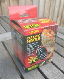 Exo Terra Ceramic Heat Emitter, 100w, ES