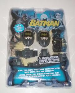 Batman 2 Way Radios FRS Micro-Wristband Walkie Talkies + Access London Ontario image 1