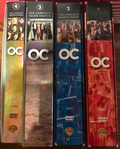 DVD SET - 4 Seasons of The OC in MINT Condition