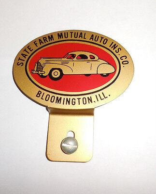 State Farm Mutual Auto Insurance Emblem License Plate Topper