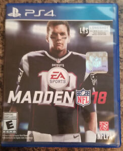 Madden 18 for PS4