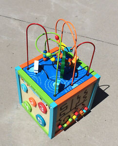 Collapsable Toddler Activity Cube