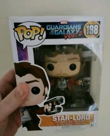 Marvel Funko Pop Star Lord & Magneto