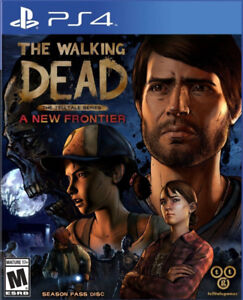 The Walking Dead New Frontier ps4