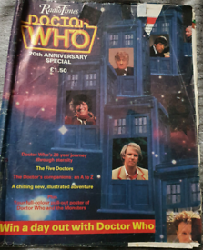 RARE: Radio Times Doctor Who 20th Anniversary Special.