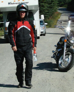 Motorcycle Riding Gear- Mens Large
