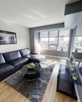 1 bedroom+ private  bath in luxurious condo 1 min Kipling Subway