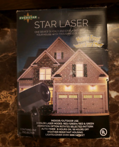 Holiday Home Laser Decoration *New*