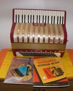 120 Bass Hohner Marchesa Accordion With Case - Made In Germany