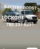 24HOURS TOWING SERVIC (780) 237 8291   $60+ BATTERY BOOST