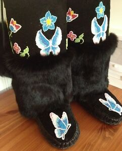 HOWTO MAKE MUKLUKS, MOCCASINS, MITTS ETC. FOR FUN OR PROFIT