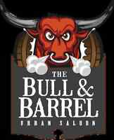 BULL AND BARREL IS LOOKING FOR EXPERIENCED LINE COOKS