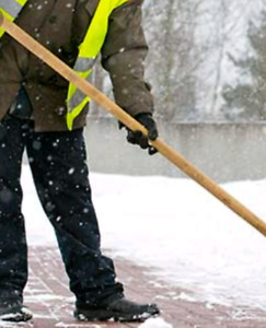 Looking for snow shovelers / salters