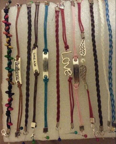 Birthday Jewelleryts For Him And Her Priced R10 To R100 Leatherette Bracelets Each