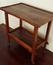 Retro timber drinks trolley / traymobile / tea trolley Lilyfield Leichhardt Area Preview