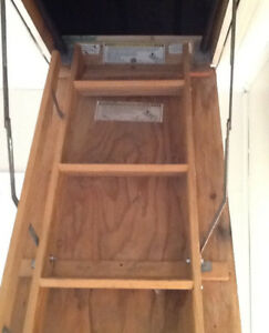 Attic Storage Ladder