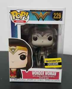 Funko Pop Heroes Entertainment Earth Excl Sepia Wonder Woman