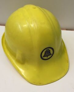 Vintage Old Hard Hat with Bell Logo