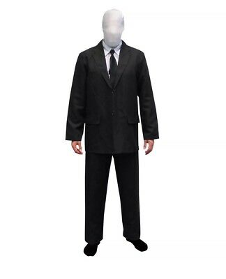 Slenderman Morphsuit Premium LARGE Suit-Morphsuits- Great Halloween Outfit NEW](Slenderman Halloween)
